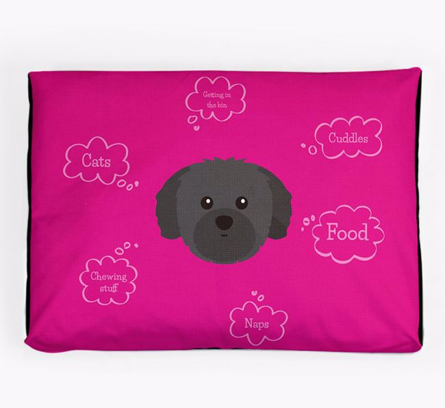 Personalised 'Sweet Dreams' Dog Bed for your Shih Tzu