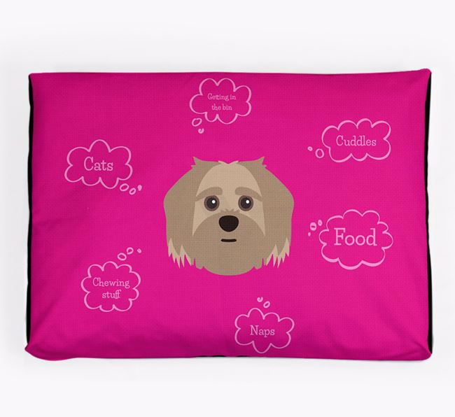Personalised 'Sweet Dreams' Dog Bed for your Shorkie