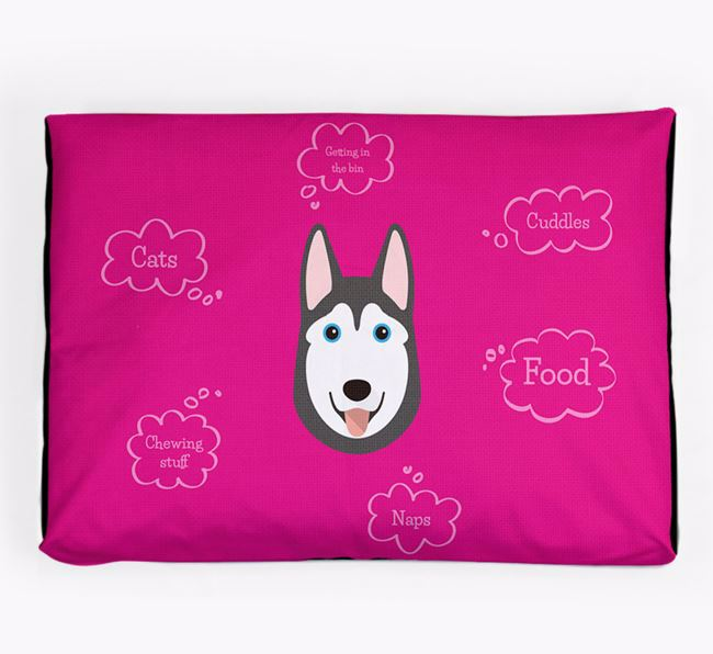 Personalised 'Sweet Dreams' Dog Bed for your Dog