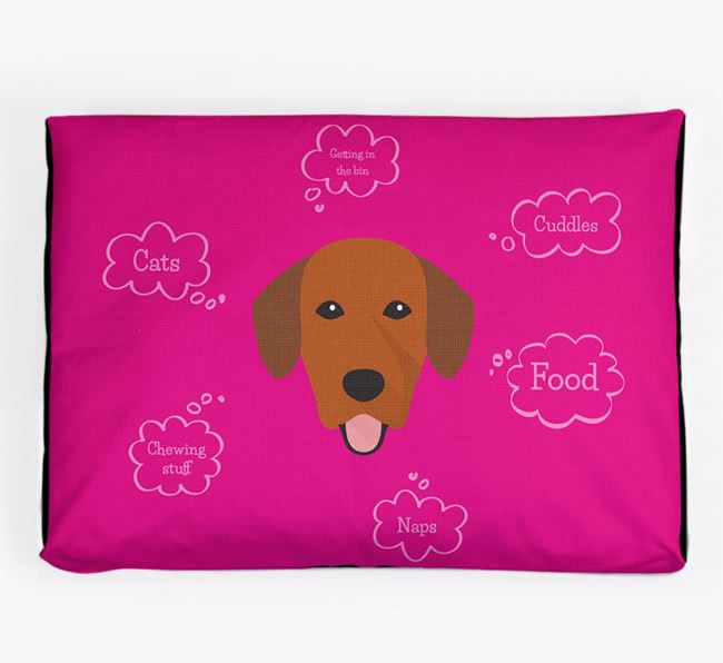 Personalised 'Sweet Dreams' Dog Bed for your Springador