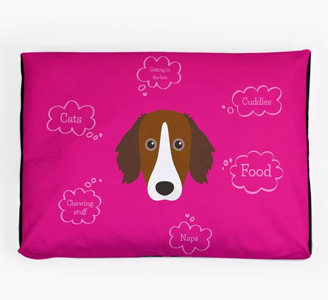 Personalised 'Sweet Dreams' Dog Bed for your Sprollie