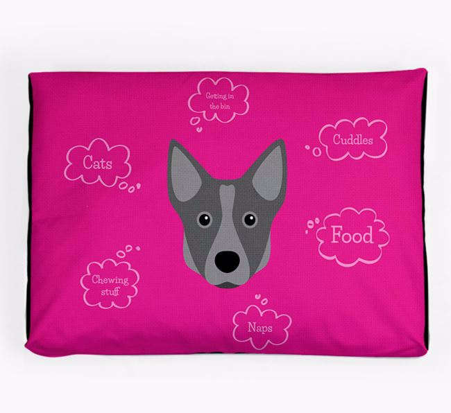 Personalised 'Sweet Dreams' Dog Bed for your Swedish Vallhund