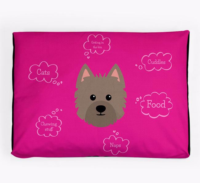 Personalised 'Sweet Dreams' Dog Bed for your Westiepoo
