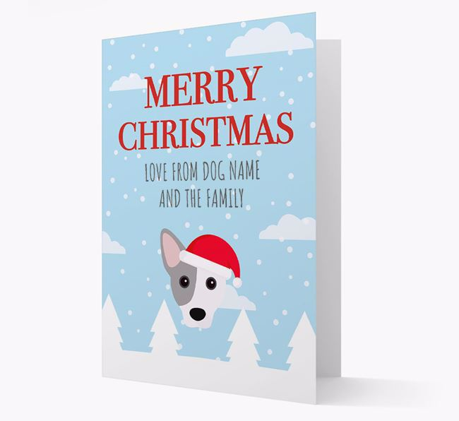 'Love from the Family' Christmas Card with your Cojack Christmas Icon