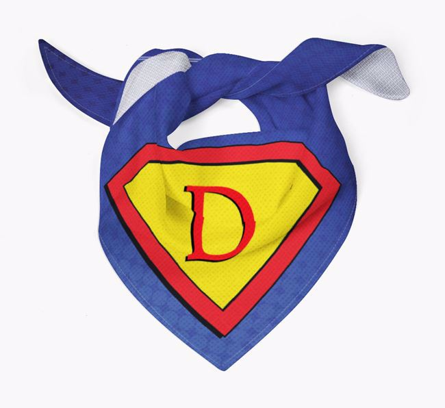 Personalised 'Super-Dog' Bandana for your Chihuahua