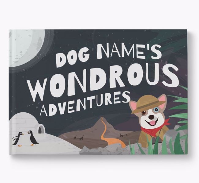 Personalised Your Dog's Wondrous Adventures Book