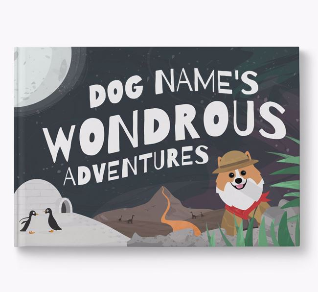 Personalized Your Dog's Wondrous Adventures Book