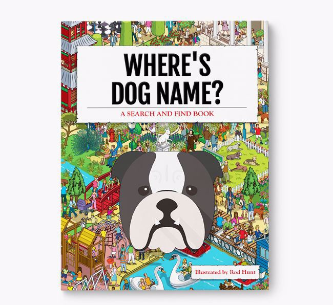 Personalized Where's Your Dog Book