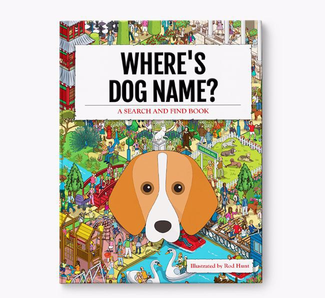 Personalised Where's Your Dog Book