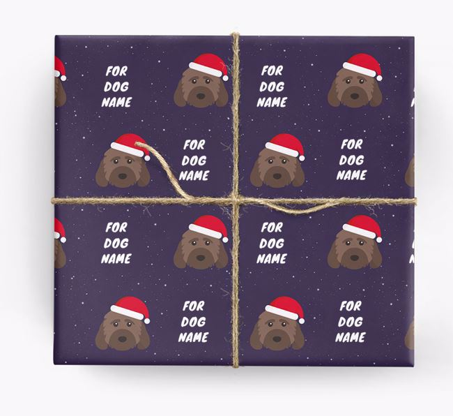 Christmas Wrapping Paper for your Cockapoo