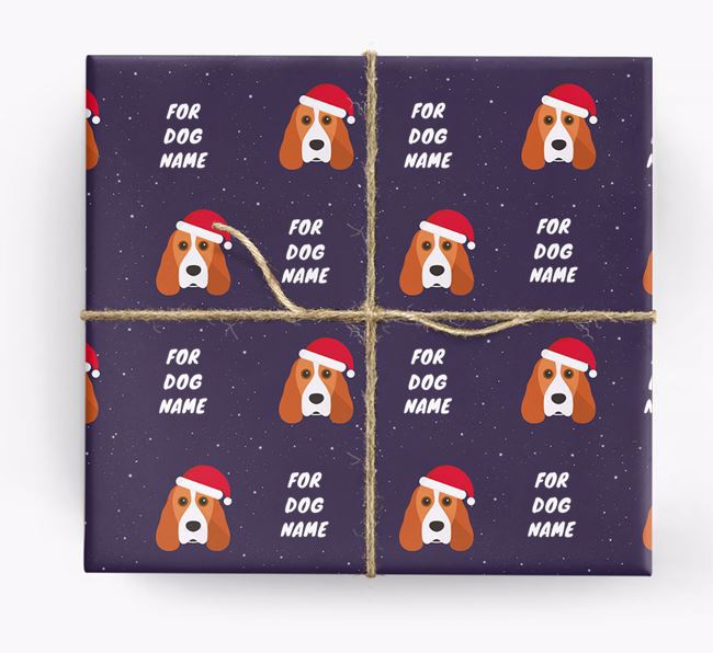 Christmas Wrapping Paper for your Cocker Spaniel