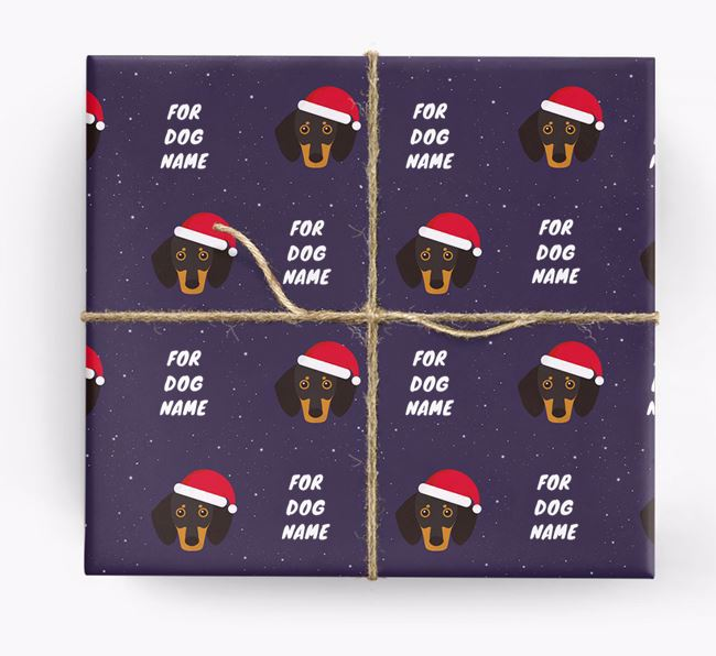 Christmas Wrapping Paper for your Dachshund