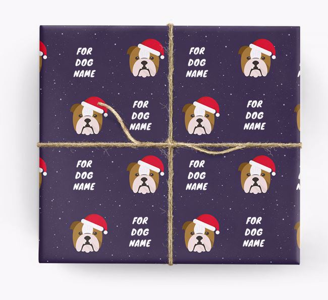 Christmas Wrapping Paper for your Dog