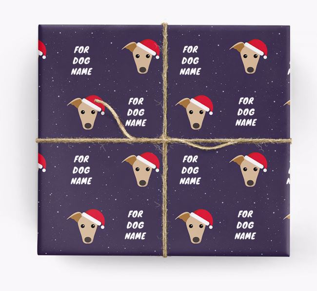 Christmas Wrapping Paper for your Greyhound