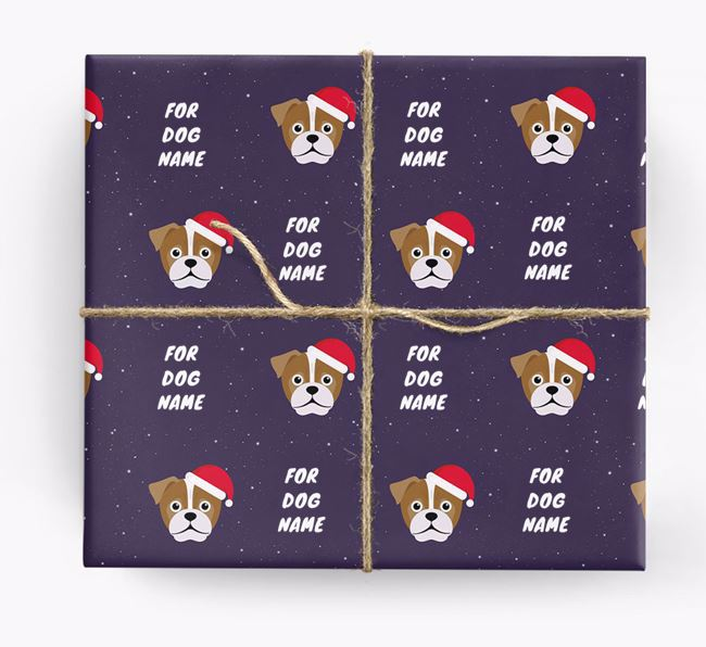 Christmas Wrapping Paper for your Jug