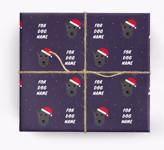 Christmas Wrapping Paper for your Lakeland Terrier