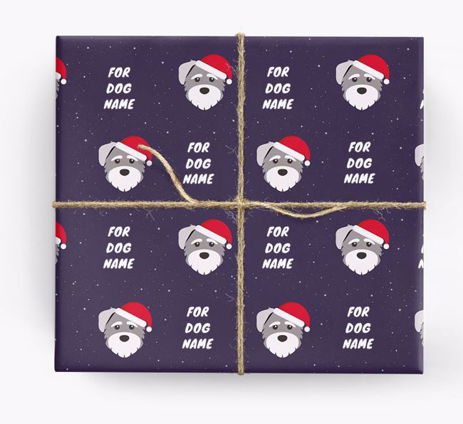 Christmas Wrapping Paper for your Mixed Breed