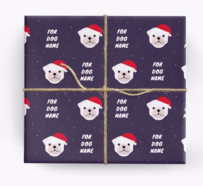 Christmas Wrapping Paper for your Pug
