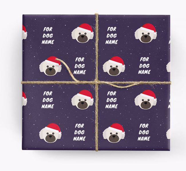 Christmas Wrapping Paper for your Shih Tzu