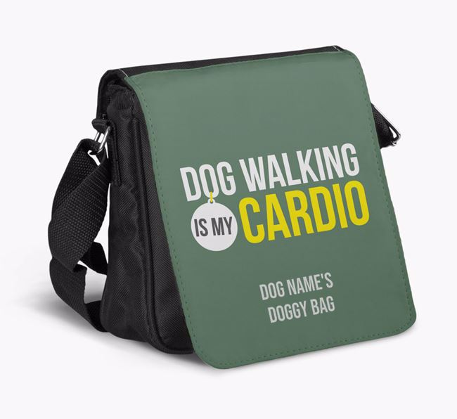 'Dog Walking is my Cardio' Shoulder Bag
