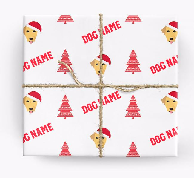 Personalised Christmas Wrapping Paper with your Borador Icon