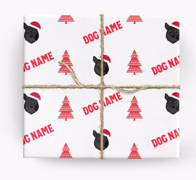 Personalised Christmas Wrapping Paper with your Chihuahua Icon