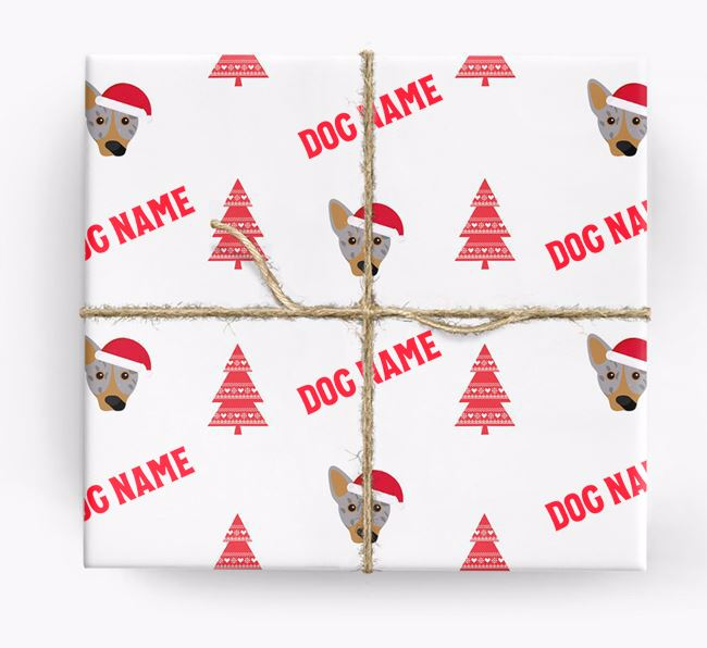 Personalised Christmas Wrapping Paper with your Cojack Icon