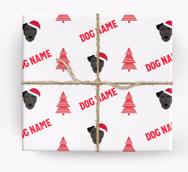 Personalized Christmas Wrapping Paper with your Jack-A-Poo Icon