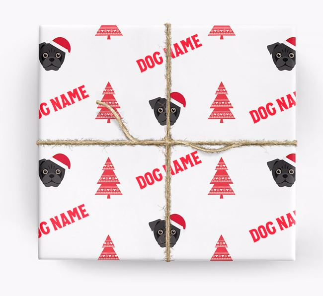 Personalized Christmas Wrapping Paper with your Jug Icon