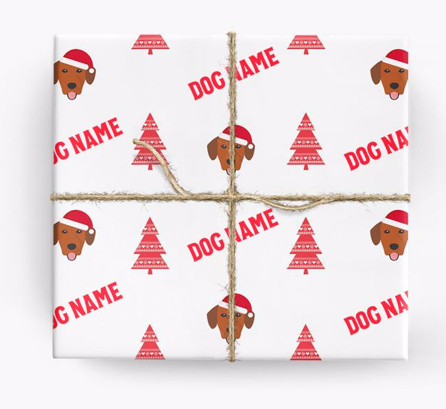 Personalised Christmas Wrapping Paper with your Springador Icon