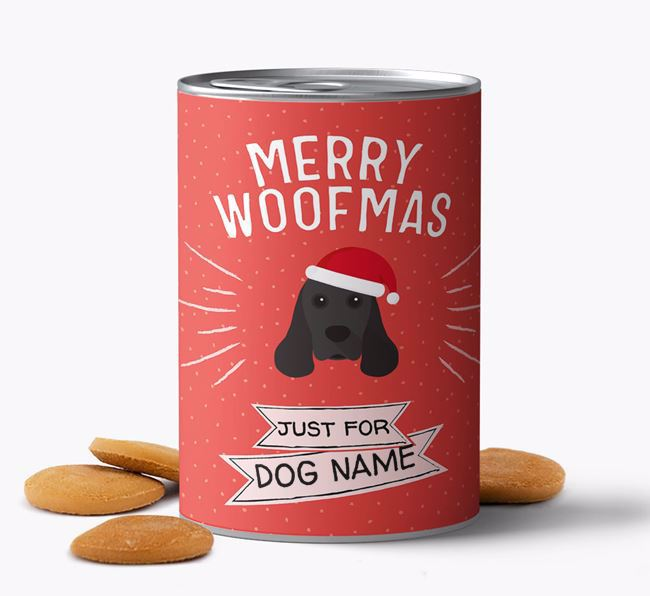 Personalised 'Merry Woofmas' Biscuits
