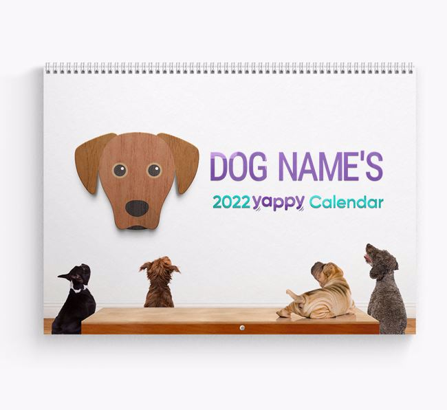 Personalised Your Dog's 2020 Calendar