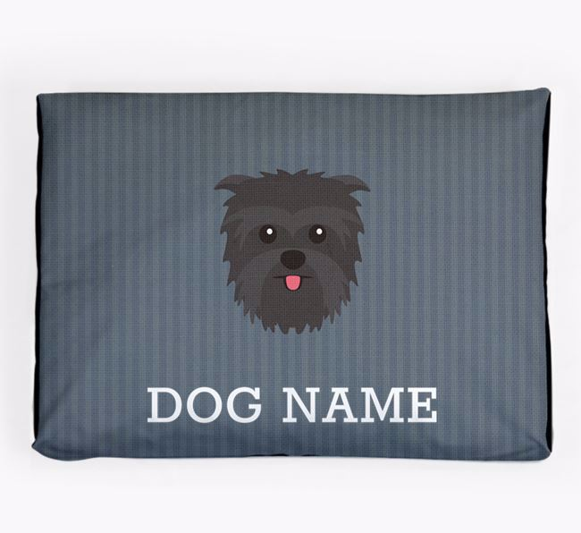 Personalised Dog Bed for your Affenpinscher