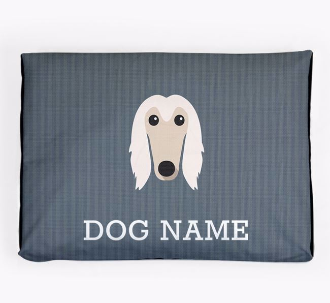 Personalised Dog Bed for your Afghan Hound