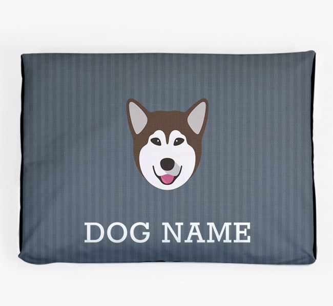Personalised Dog Bed for your Alaskan Malamute