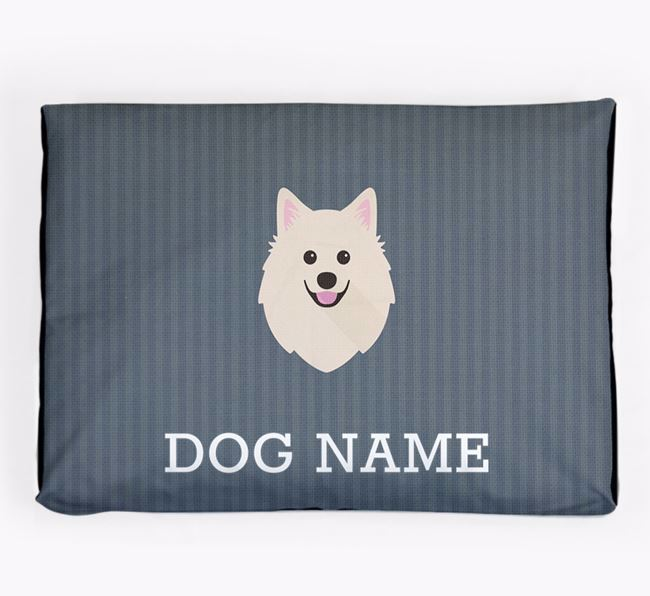 Personalised Dog Bed for your American Eskimo Dog