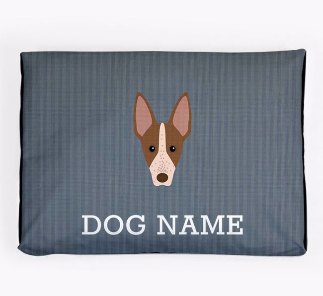 Personalised Dog Bed for your American Hairless Terrier