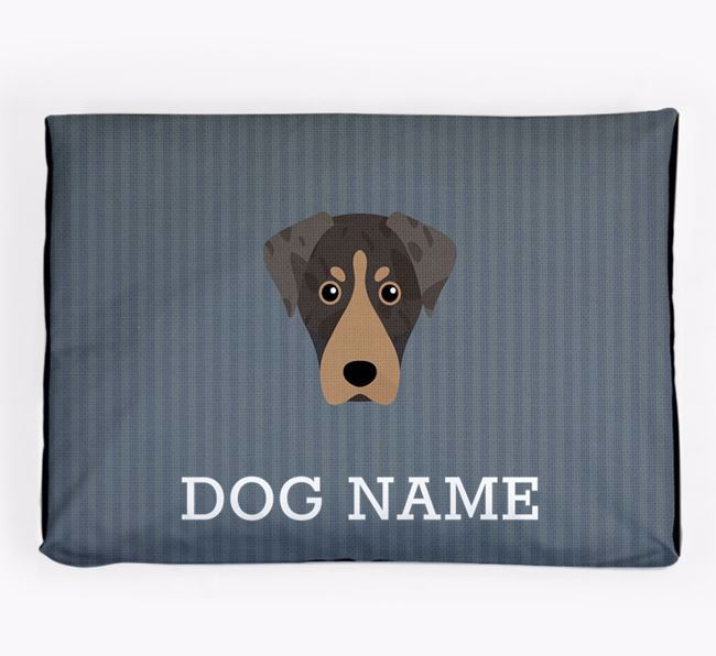 Personalised Dog Bed for your American Leopard Hound