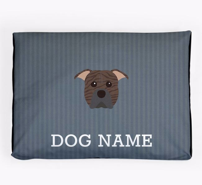 Personalised Dog Bed for your American Pit Bull Terrier