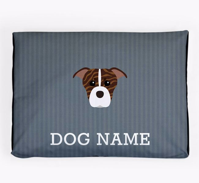 Personalised Dog Bed for your American Staffordshire Terrier