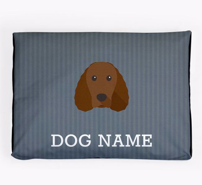 Personalised Dog Bed for your American Water Spaniel