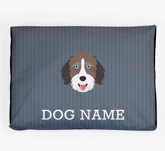 Personalised Dog Bed for your Aussiedoodle