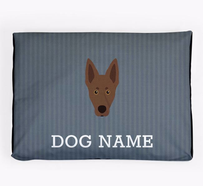 Personalised Dog Bed for your Australian Kelpie