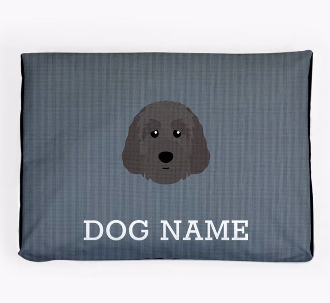 Personalised Dog Bed for your Australian Labradoodle