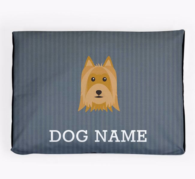 Personalised Dog Bed for your Australian Silky Terrier