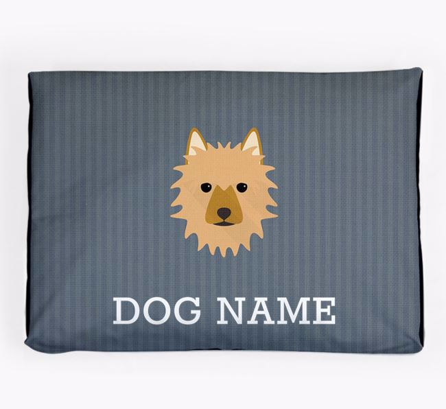 Personalised Dog Bed for your Australian Terrier