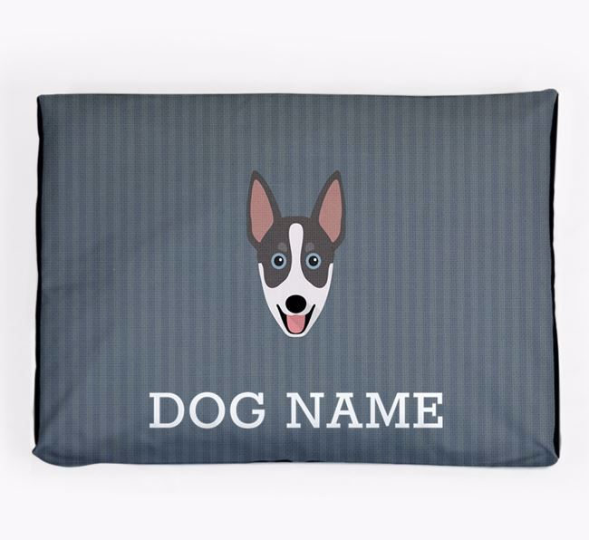 Personalised Dog Bed for your Australian Working Kelpie