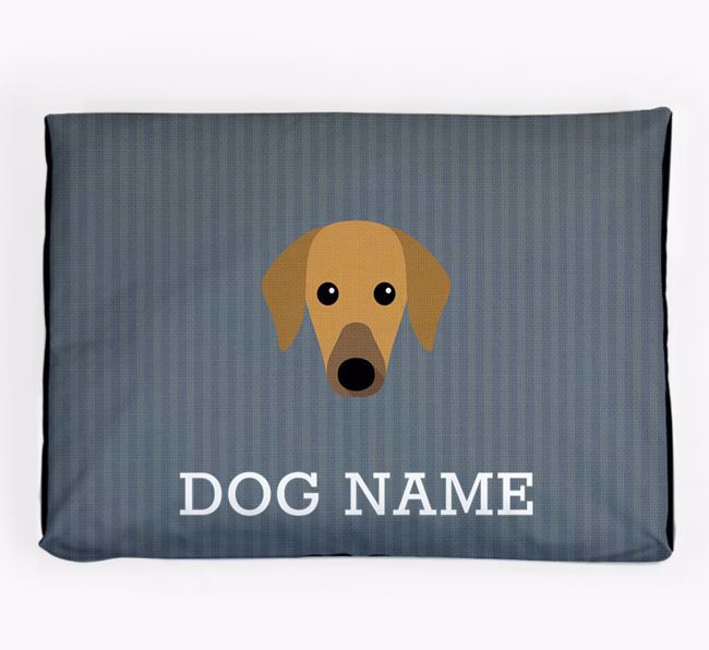 Personalised Dog Bed for your Azawakh
