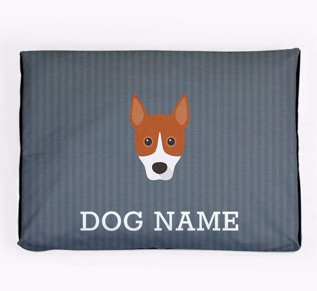 Personalised Dog Bed for your Basenji