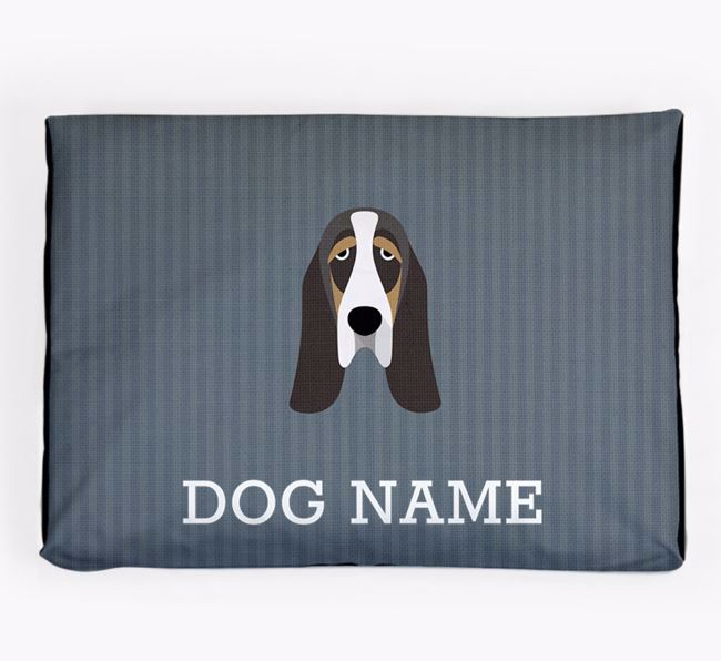 Personalised Dog Bed for your Basset Hound